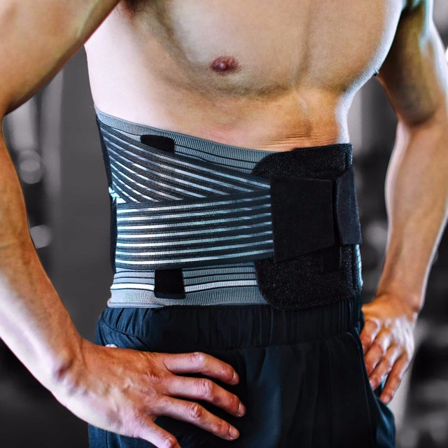 GNERVE Cycling Professional Waist Support Adjustable Trainer Fitness Waistband Power Protect Sport Safety Lumbar Belt Equipment