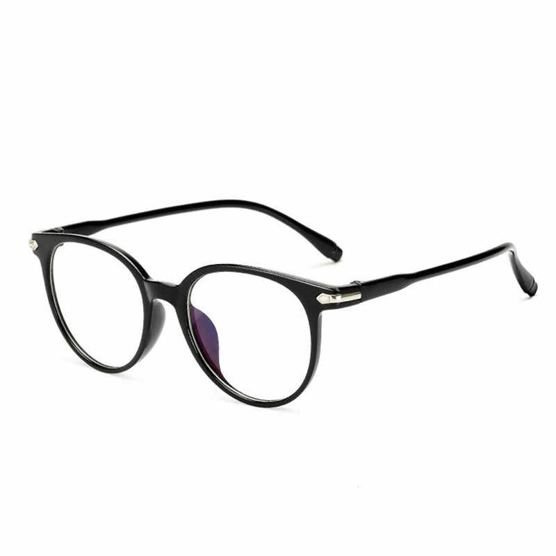 Мужские и женские очки Ahora, очки в стиле ретро с круглой оправой для оптических очков, очки с защитой от синего излучения, прозрачные линзы, 2020