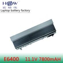 New 9 CELLS Laptop Battery For Dell Latitude E6400 E6410 E6500 E6510 ,PT434 PT435 PT436 PT437,R822G U844G W0X4F new 12 cells laptop battery for dell latitude e6400 e6410 e6500 e6510 pt434 pt435 pt436 pt437 free shipping