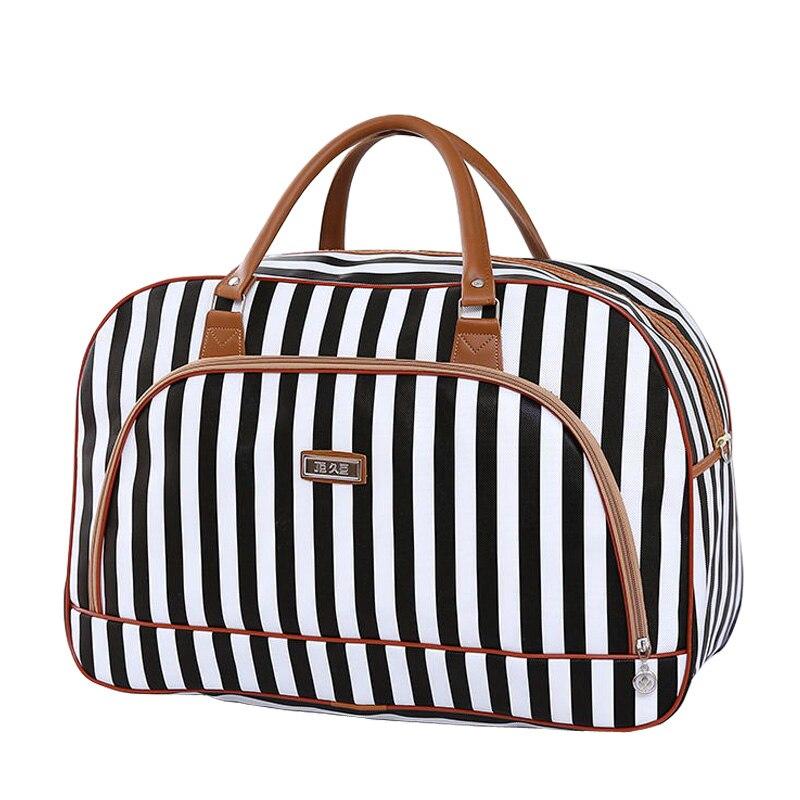 4ada8bdba36a Womens Travel Bags 2018 Fashion Pu Leather Large Capacity Waterproof Print Luggage  Duffle Bag Casual Travel