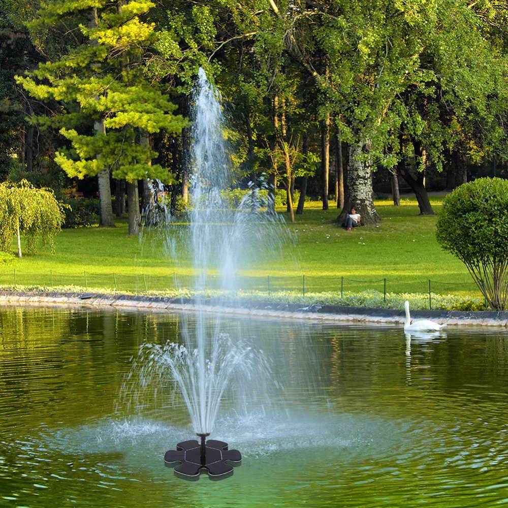 Merveilleux ... Micro Floating Fountain Solar Water Fountain Pump Outdoor Suspension  Circular Solar Fountain For Garden ...