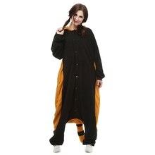 Animal pijamas mapache unisex adultos polar fleece Kigurumi onesies pijamas cosplay traje de la historieta animal ropa de dormir de manga larga