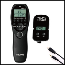 High quality 870S2 Shutter Release  Wireless Remote Control LCD Timer Shutter Release Transmitter Receiver for Nikon DSLR Camera