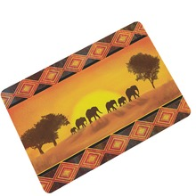 New Indian Elephant Rubber Anti Slip Doormats Door Animals Entry Front Mats Outdoor Entrance Indoor Welcome Home