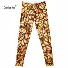 Hot Wholesale Fashion 2016 Womens Pirate Costume Leggins Pants Digital Printing beautiful leaves LEGGINGS