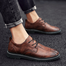 Men Casual Leather Shoes High Quality Genuine Leather Shoes Designer Men Loafers Luxury Brand Men Flats Shoes desai brand luxury brown men genuine leather casual shoes quality soft loafers comfortable shoes for men size 38 43