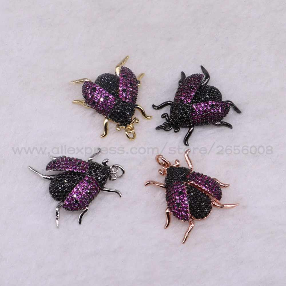 Detail Feedback Questions about 4 Pcs Beetles pendant Tiny