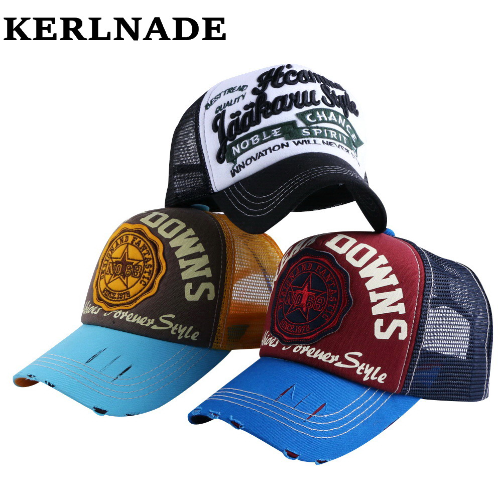 wholesale   caps   men women fashion summer   baseball     cap   Sunshade net mesh style letter simple sports hat 58CM for girl boy snapback