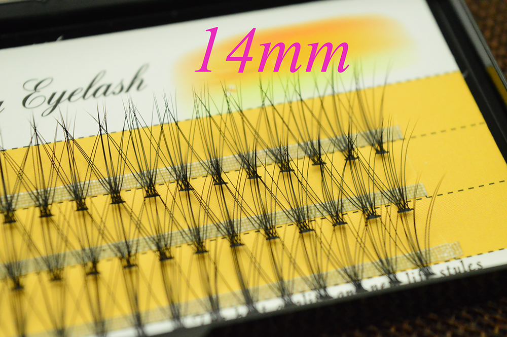 HTB1eOYWedcnBKNjSZR0q6AFqFXaX 60 pcs/lot 10D Handmade natural eyelash extension individual lashes nakeds make up eyelash cluster false fake wispies eyelashes