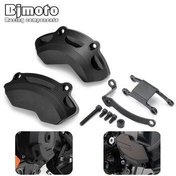 BJMOTO Moto Duke 790 2018 2019 Engine Frame Sliders Crash Guard Protector Pad For KTM Duke790 2018-2019 Engine Guards Case Guard