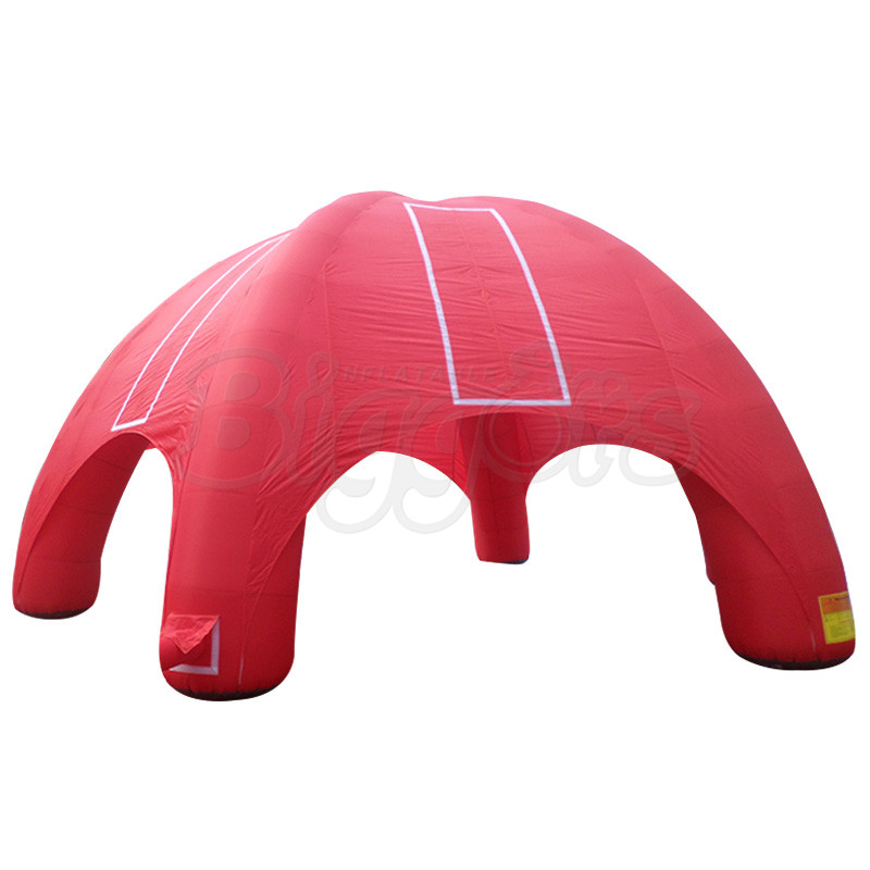 PVC Tent Easy to Install Commercial Use Inflatable Tent Air Pump for Event Party personal activity inflatable mobile pub tent for family party use