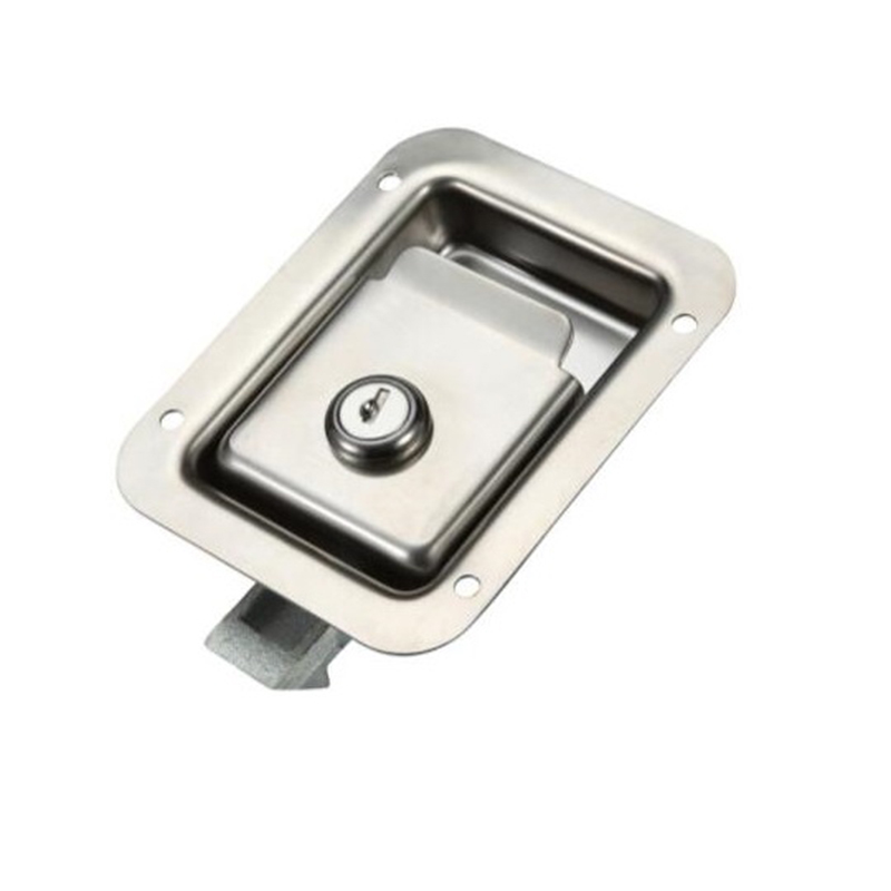 Flush Mount Lock Latch Handle for RV, Yachts Boats, Trailer Wall Furniture RV Lock Iron or Polished SUS304Flush Mount Lock Latch Handle for RV, Yachts Boats, Trailer Wall Furniture RV Lock Iron or Polished SUS304