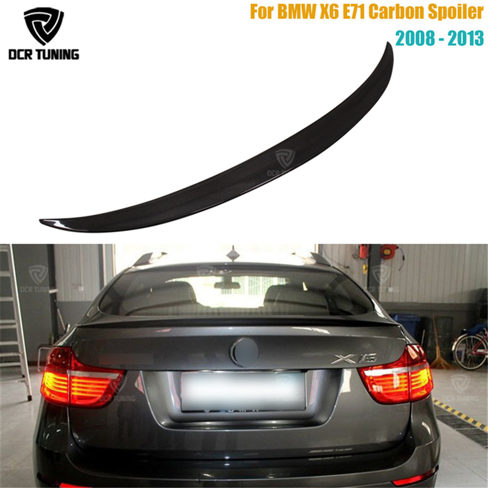 For BMW X6 E71 Spoiler Carbon Fiber Spoiler For X6 2008 2009 2010 2011 2012 2013 Rear Trunk Wing Performance Spoiler for bmw x6 e71 spoiler carbon fiber spoiler for x6 2008 2009 2010 2011 2012 2013 rear trunk wing performance spoiler page 4