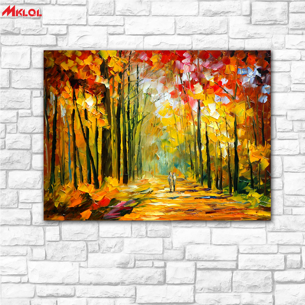 wall Art Sunshine lover Scenery painting Painting For Living Room ...