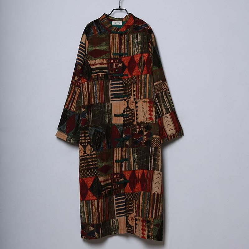 2017 fall fashion coat vintage ethnic national wind