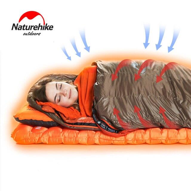 Naturehike Warming Sleeping Bag Liner Envelope Mummy Summer Outdoor Camping Portable Single Bed Sheet Lock