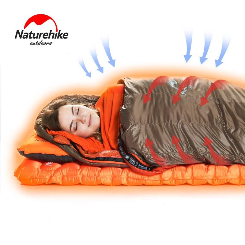Naturehike Warming Sleeping Bag Liner Envelope Mummy Summer Outdoor Camping Portable Single Bed Sleeping Sheet Lock Temperature ...