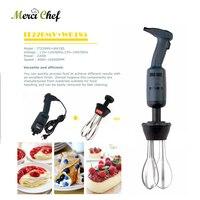 ITOP Commercial & Household Blender Plastic+Stainless Steel Handheld Egg Beater Whisk Mixer Handheld Blender