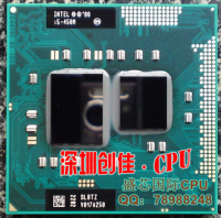 Original Intel Core Processor I5 450M 3M Cache 2 4 GHz Laptop Notebook Cpu Processor Free