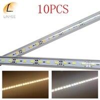 10pcs Super cheap Bar light DC12V 36 led SMD 5630/5730 Aluminum Alloy+ PC Cover Led Strip light For Cabinet LED