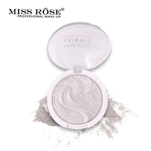 Miss Rose Highlighter Brighten Базовый макияж Легко носить длительно пасту с порошком Bronzer Glow kit Укрыватель