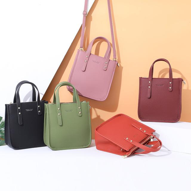 YIZHONG 2019 Pu Leather Hangbags Fashion Shoulder Bags Large Capacity Messenger Bag Luxury CrossbodyBags Designer  Tote Bag