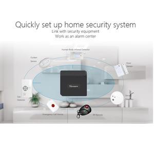 Image 5 - Sonoff RF puente Wifi convertidor 433MHZ Sensor de movimiento PIR Detector inalámbrico control remoto en casa controlador compatible con IOS Android