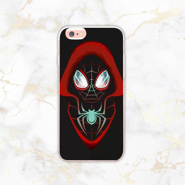 coque iphone 8 spider man into the spider verse