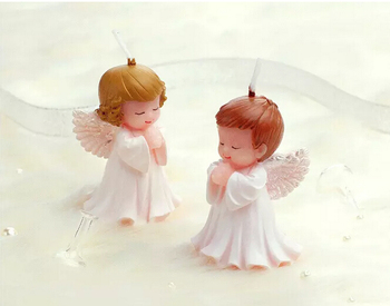10pcs Baby Angel Candle For Wedding Party Birthday Souvenirs Gifts Favor Hot Packaged with box