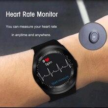 Bluetooth Yeni Varış Spor akıllı saat büyük ekran dokunmatik daha iyi Oksijen Kan Basıncı nabız monitörü Su Geçirmez Spor