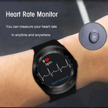 Bluetooth の新到着スポーツスマート時計の大画面タッチより良い酸素血圧心拍数モニター防水フィットネス