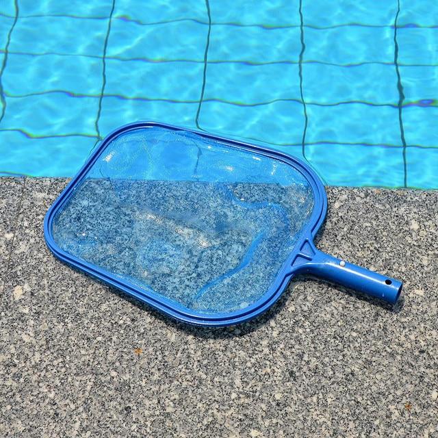 Professional Leaf Rake Mesh Frame Net Skimmer Cleaner Swimming Pool ...