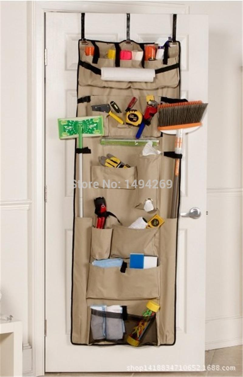 Organizer hanging ultimate door organizer pockets over for Porte cellier
