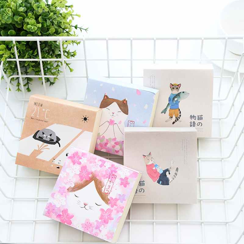 Cute cat Diary Book Page Notebook kitten School Stationery Exquisite Student Girls Gift Portable journal Notepad Office Supplies color page diary notebook a5 simple top quality thicken notebooks school supplies stationery fine travel plan notepad gift page 4