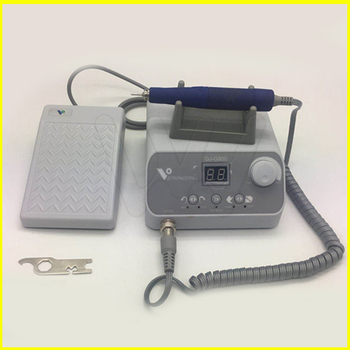 50,000 rpm brushless jewelry micromotor speed by foot pedal dental laboratory Polishing set
