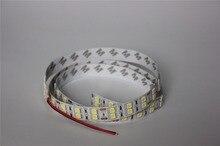 1m/Lot LED Strip 5050 Double row line Non waterproof DC12V   Flexible LED Light 120LED/m  RGB white warm whit  5050 LED Strip