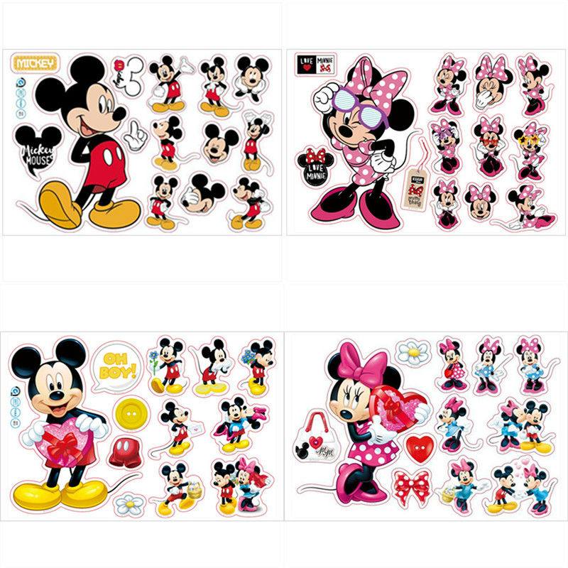 Minnie Mouse Room Decoration Stickers