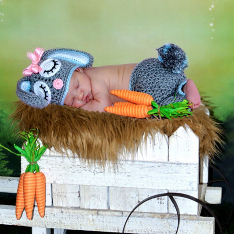 Children wool Elastic Rabbit cap suit Manual Weave Hat newborn photo prop woodland animal prop hi fi hy502 usb mp3 dvd cd fm sd digital player for motorcycle auto stereo power amplifier sound model audio music player