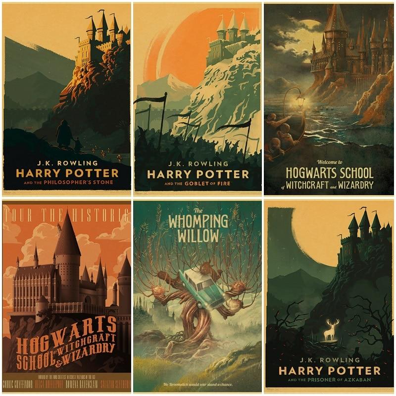 Huobiteren, Harry Potter, minimalist poster.