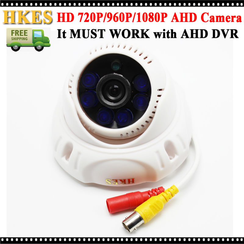 New Arrival HD 720P 960P 1080P CCTV IR Dome AHD Camera 2MP indoor new 2mp hd cctv ahd camera 1080p zoom 2