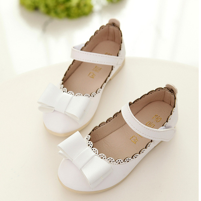 2018 cute girls leather shoes fashion lace bow children shoes party 2018 cute girls leather shoes fashion lace bow children shoes party dance princess flower girl shoes mightylinksfo
