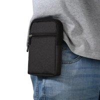 Outdoor Holster Waist Belt Pouch Wallet Phone Case Cover Bag For Fly IQ4504 EVO Energy 5