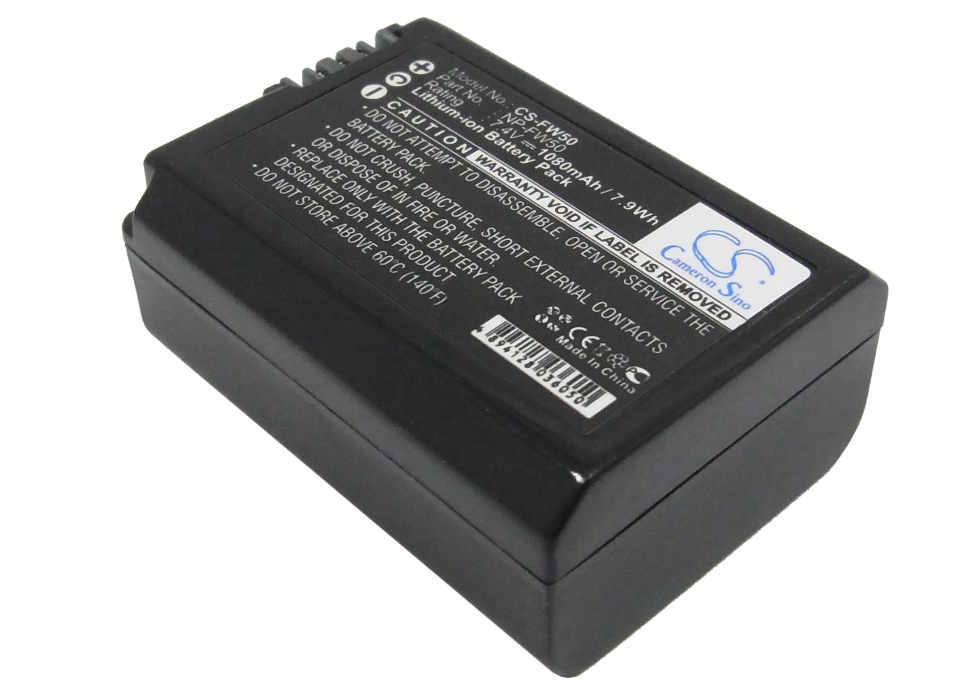 Cameron Sino Battery For <font><b>Sony</b></font> NEX-5H,5HB,5K,5KS,5N,5NB High Capacity image