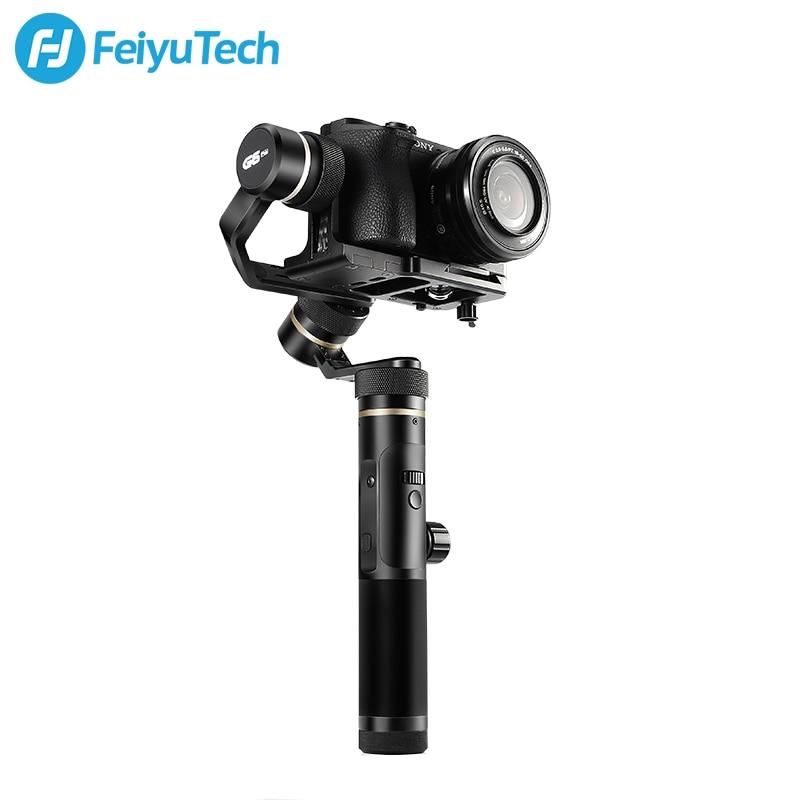 FeiyuTech Feiyu G6 Plus 3-Axes De Poche Éclaboussures Cardan stabilisateur pour appareil Photo Sans miroir de Poche Caméra GoPro 5/6 Smartphone