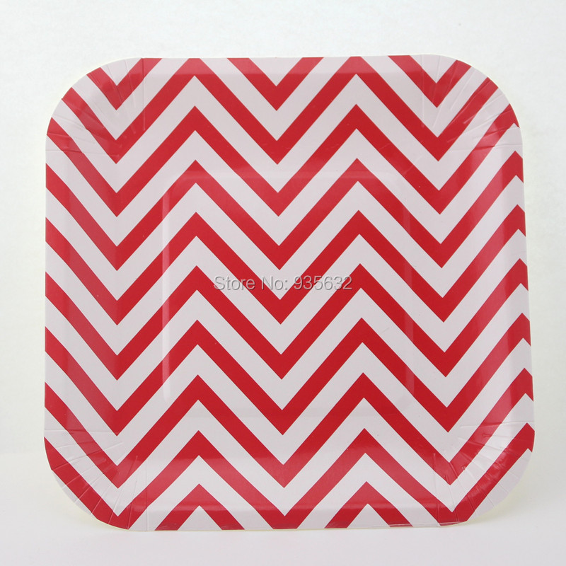 Free Shipping Birthday Party Wedding BBQ Buffet 7\\ Pink Chevron Square Paper Plates-in Event \\u0026 Party From Home \\u0026 Garden On Aliexpress.com ...  sc 1 st  pezcame.com & Pink Square Paper Plates \u0026 453277 7\\u0026quot; Hot Magenta Pink ...
