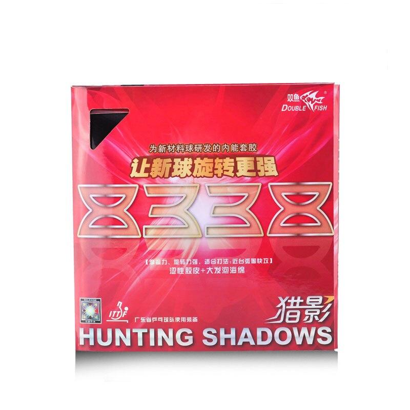 Doublefish Jagd Schatten 8338 professionelle innere power tischtennis schläger gummi mit schwamm starke reibung und spinnen.