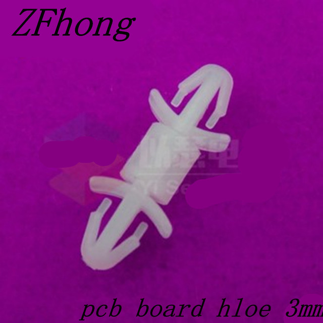 200pcs 3mm Nylon PCB Spacer Plastic Stand-off Spacer Plastic Parts Reverse Locking Circuit Board Support