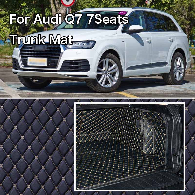Full Surround Waterproof Non slip Rear Trunk Boot Liner Cover For Audi Q7