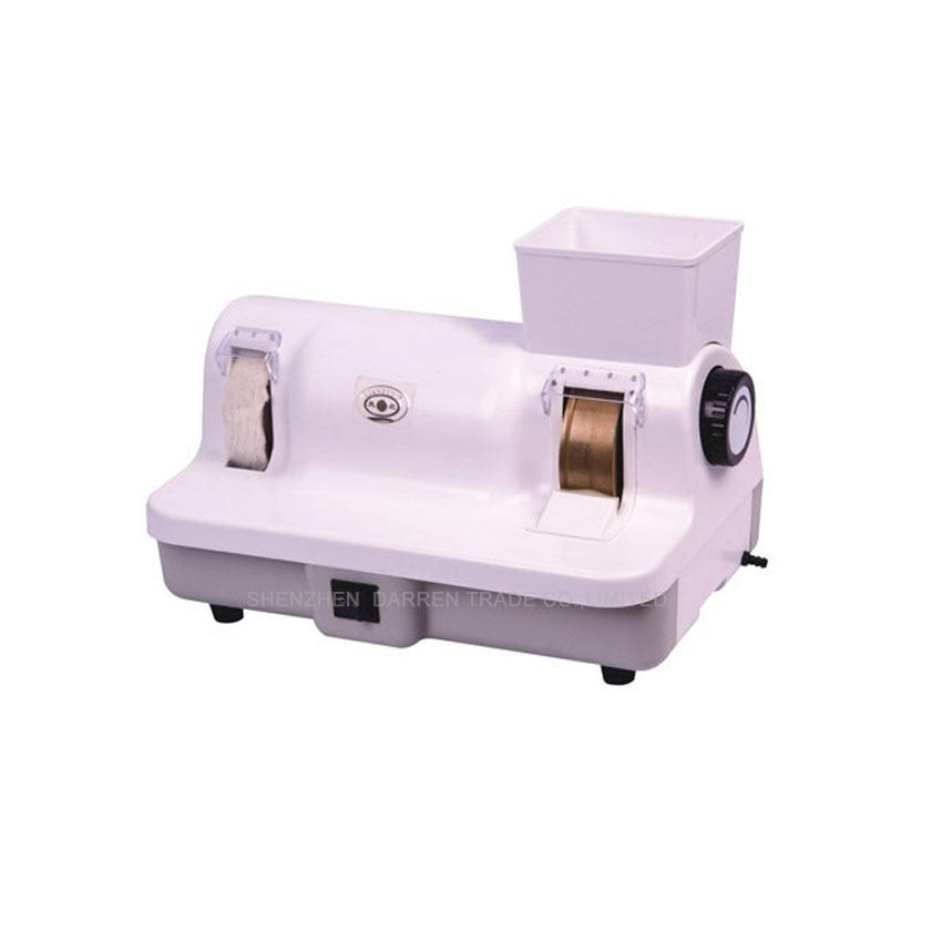 1PC High quality manual Lens polisher glasses polishing machine glasses cleaner with 110V or 220V , 120W