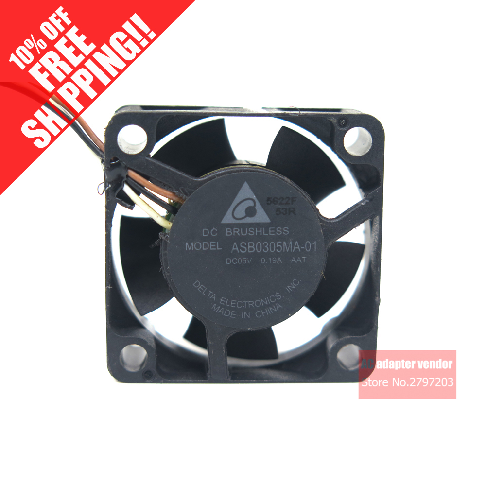 Delta BFB0605MB 607-3650 5V 0.32A 4Wire Delta CPU Cooler Fan